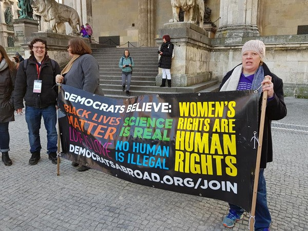 January 2019, Munich held a sister march to the Women's Marches across the United States