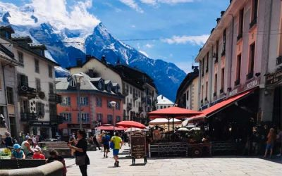 Chamonix-MontBlanc, the highest Mountain in Western Europe