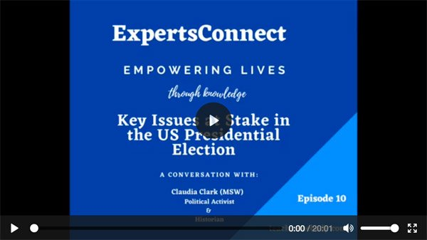 ExpertsConnect EP. 10: Key Issues at Stake in the US Presidential Election